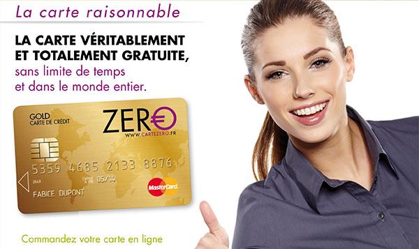 Carte Zero Gold Mastercard