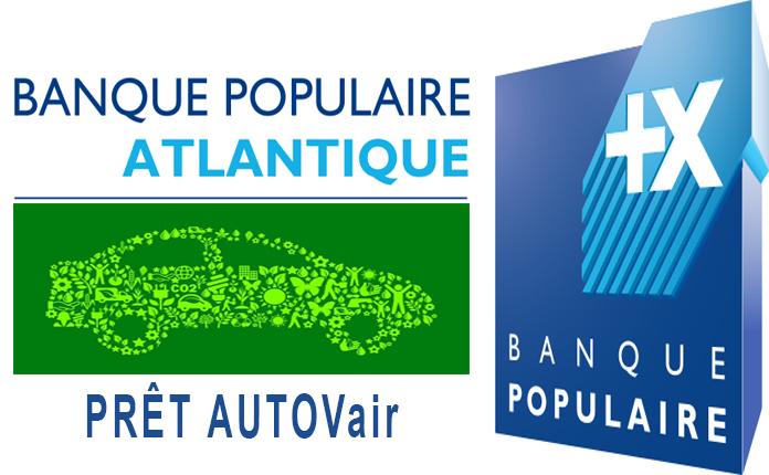 Banque Populaire Atlantique Pret AUTOVair