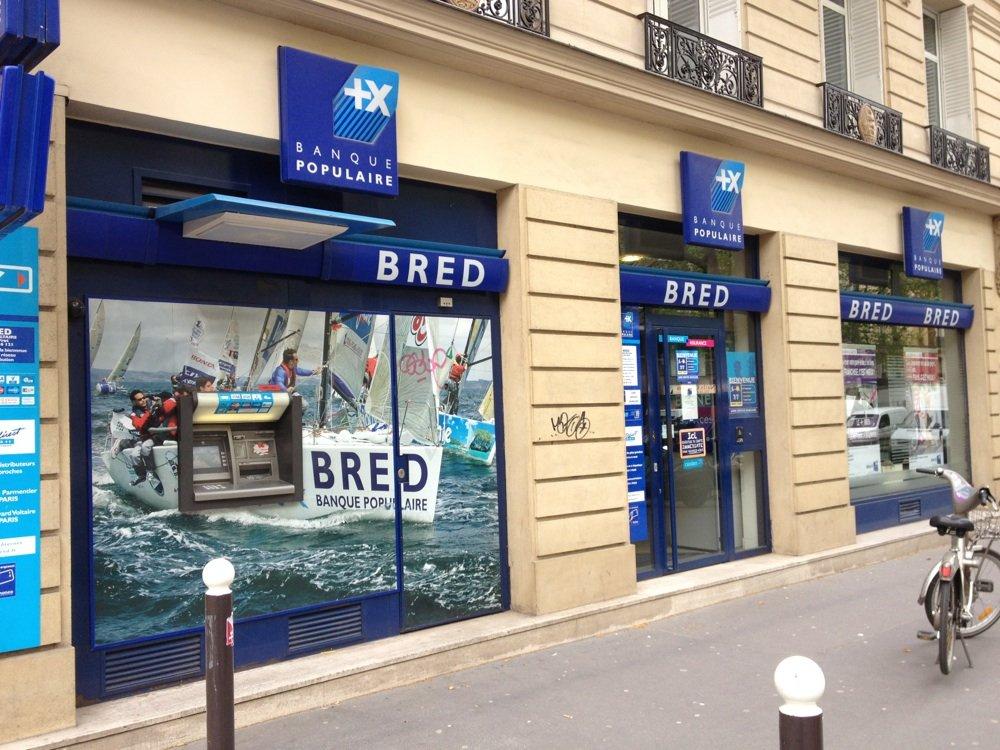 beneficiaire e carte bleue BRED