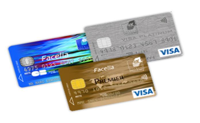 carte visa banque populaire Facelia de la Banque Populaire une carte bancaire avec un crédit