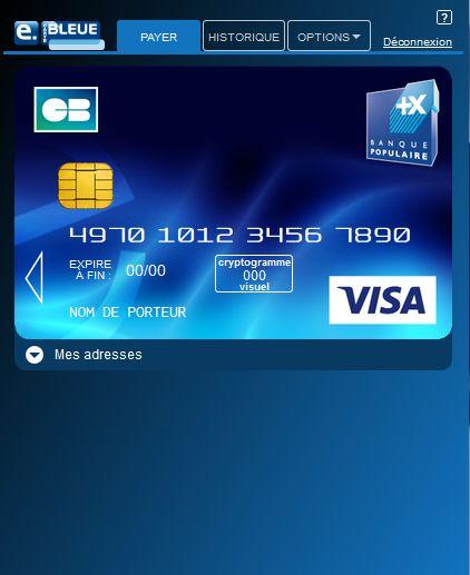 e carte bleu nomade la banque postale Avis e carte bleue Banque Postale : comment l'utiliser ?